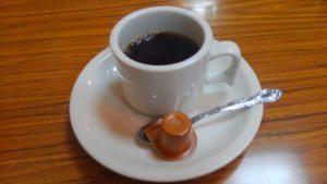 葛西の定食屋 千里の食後のサービスコーヒー