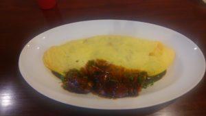 洋食 ヤブカラボウのランチオムライス