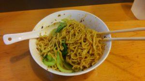 四川家庭料理 珍々の四川担々麺2