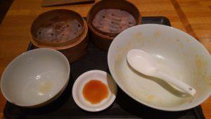 圓園の天津麻婆ご飯定食を完食