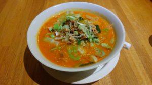 圓園の麻辣麺ランチ