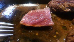 肉の村山 葛西店のテキサスステーキの萌え断