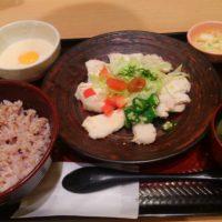 大戸屋スナモ店で夕食♪定食が栄養満点&美味しい&コスパ良しなのでオススメ!