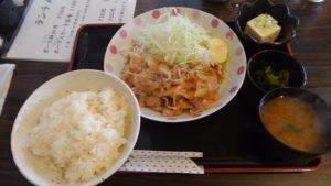東京ポーク神社 本店のポーク神社定食