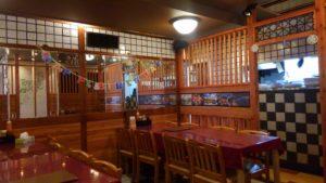 ハローベトナムレストラン 西葛西店の半個室席