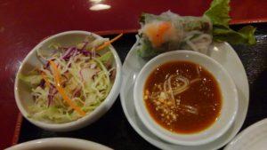 ハローベトナムレストラン 西葛西店のチキンライスと牛肉のフォーのセットのフォー