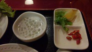 ハローベトナムレストラン 西葛西店のチキンライスと牛肉のフォーのセットのチキンライス