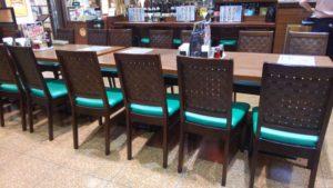 阿里城 スナモ店のおひとり様席