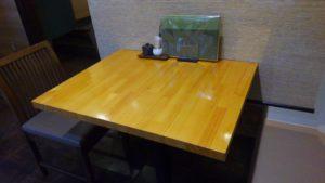 Irori さ藤のテーブル席