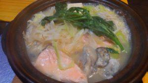 Irori さ藤の石狩鍋定食4