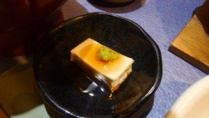 Irori さ藤の石狩鍋定食のごま豆腐