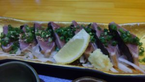 Irori さ藤のカツオのたたき定食2