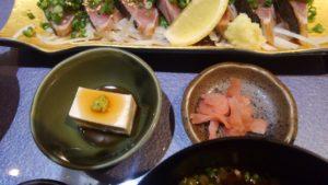 Irori さ藤のカツオのたたき定食4
