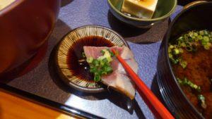 Irori さ藤のカツオのたたき定食のカツオのたたき1