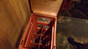 馬酒場ボブリーの椅子