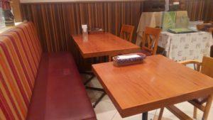 マントラ スナモ店の座席