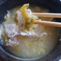 塩レモン鍋に初挑戦!作り方のレシピ動画を参考にスープから自分で作って食べてみた!