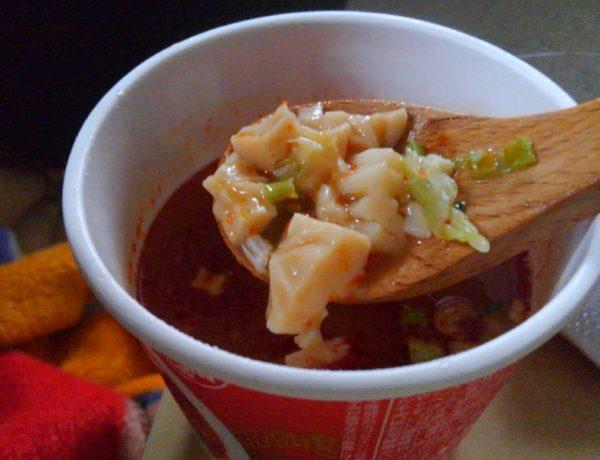 蒙古タンメン中本 豆腐スープ 実食